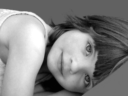 Emilee In Black And White
