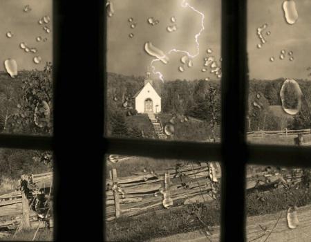 Scene  after the rain