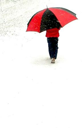 My walking umbrella
