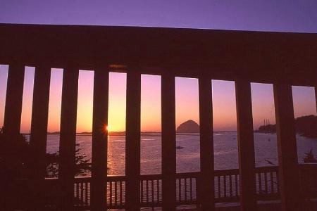 Sunset on California Coast