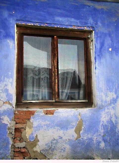 Window in blue... #2