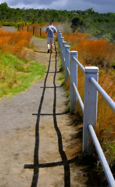 Crooked Path to the Steam Vents
