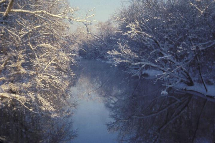 LA-023 Winter Stream - ID: 647871 © Kristina Morgan