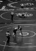 Wrestling floor