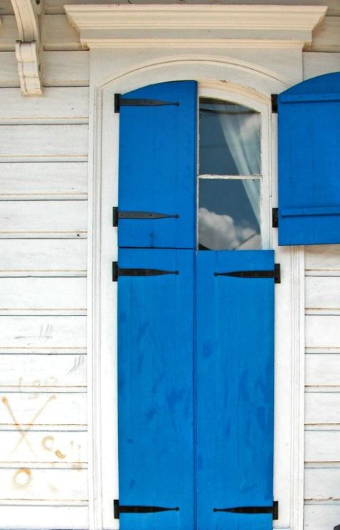 Blue Window, Faubourg Marigny - ID: 2122850 © Kathleen K. Parker