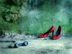 red shoes...........