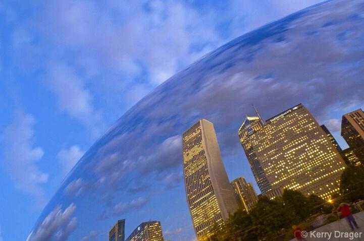 Twilight 2 Reflection - Chicago