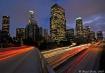 LA in twilight