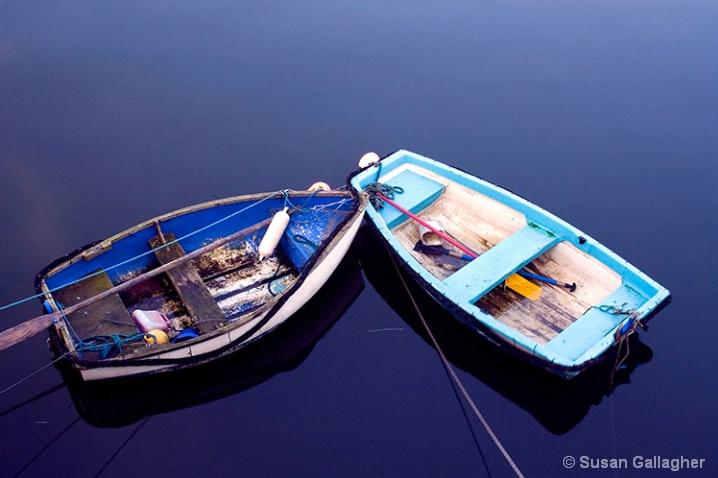 Blue Boats - ID: 5977627 © Susan Gallagher