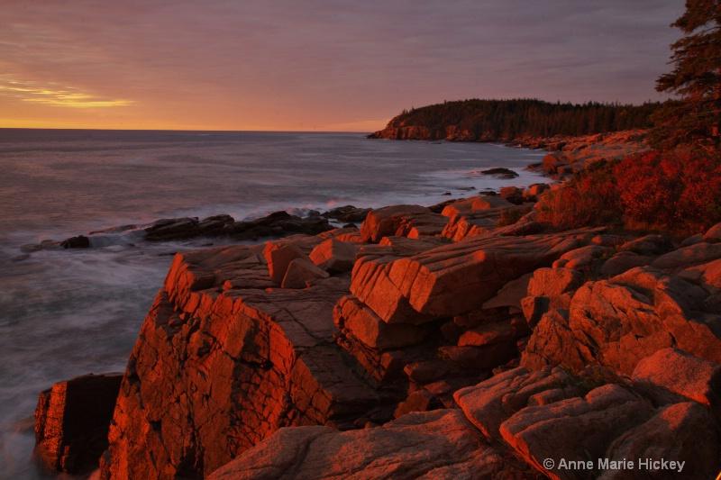 Acadia Sunrise - ID: 7275266 © Anne Marie Hickey