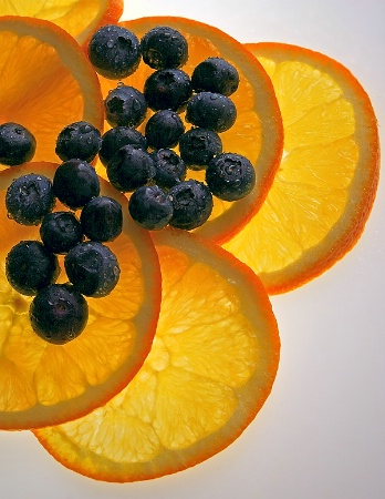 Fresh Orange and Blue