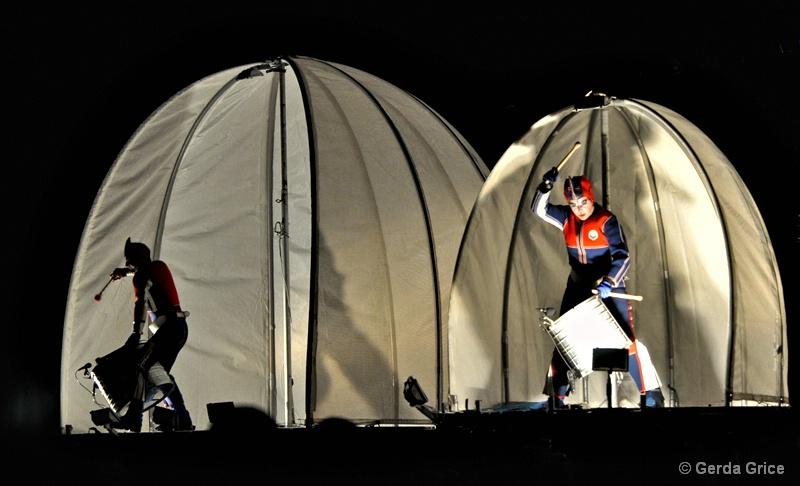 Two Drummers Drumming - ID: 7818002 © Gerda Grice