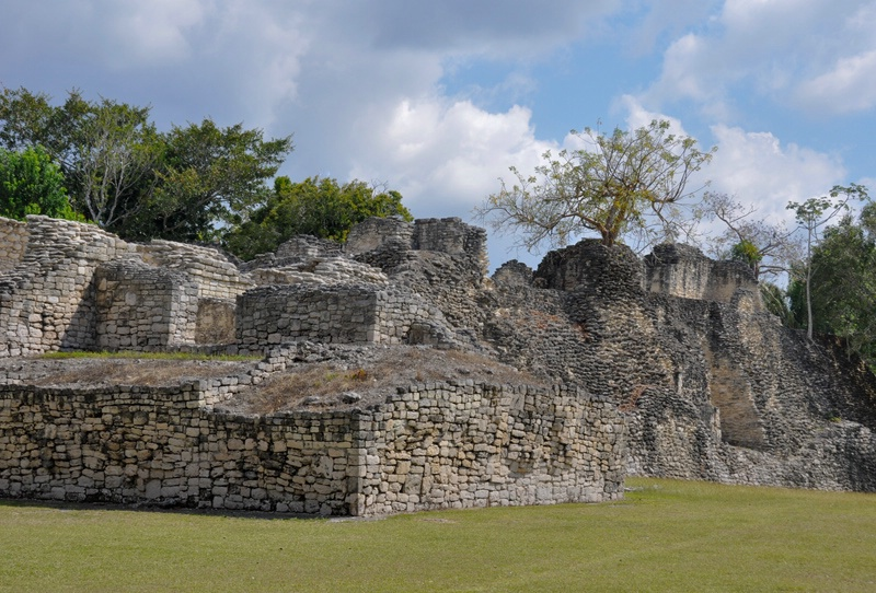 Palace Ruins at Kohunlich, Mexico - ID: 8276506 © Gerda Grice