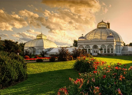 Evening at the Gardens