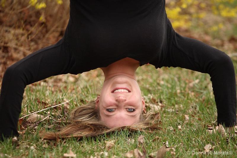 Upside down smile
