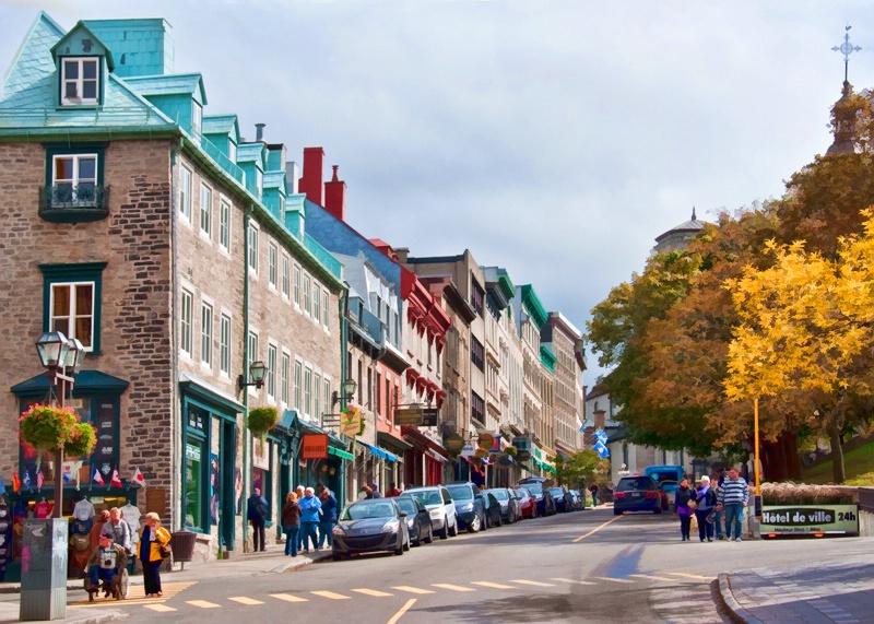 Autumn in Old Quebec - ID: 10940012 © Gerda Grice