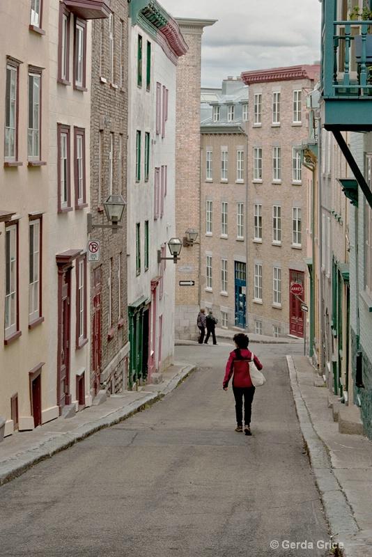Old Quebec Streetscape - ID: 11198596 © Gerda Grice