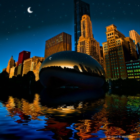 The Bean by Moonlight