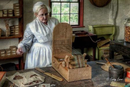 Weaving a Pattern