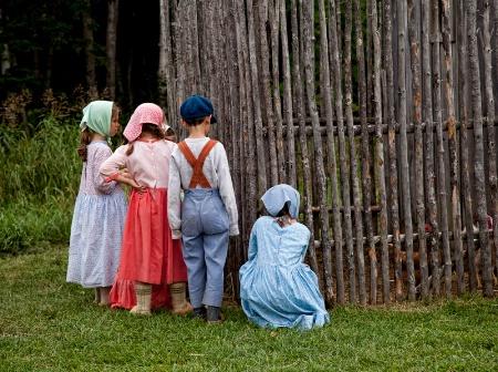 Acadian Children