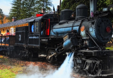Old Number 3, Climax Locomotive