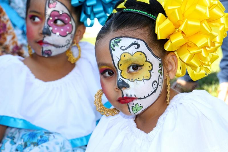 Half and Half: Muertos Makeup