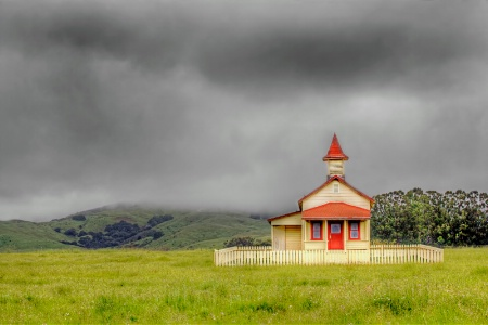 Photography Contest Grand Prize Winner - April 2014: One Room Schoolhouse