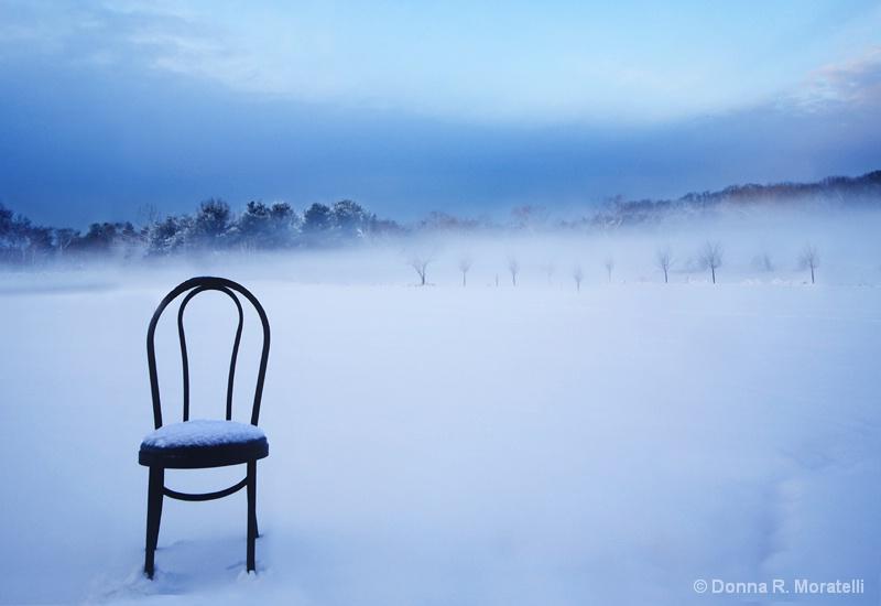 Chair in the fresh air