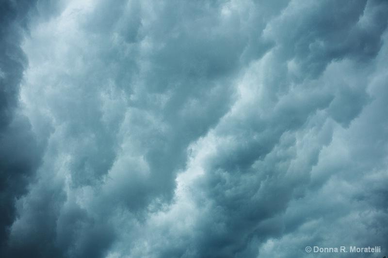 Rain bands. Hurricane Irene