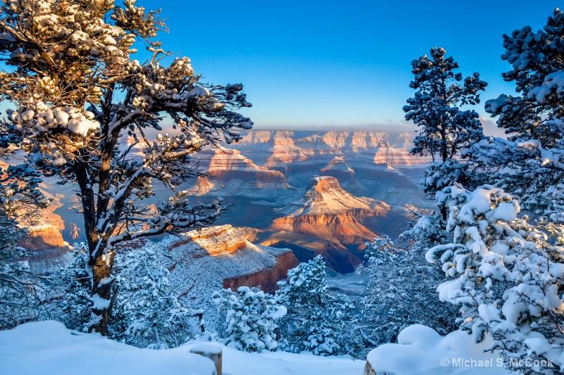 Morning Snow at the Canyon