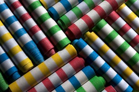 Flings of Color