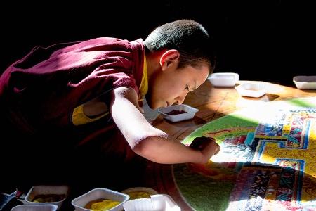 Painting the Mandala