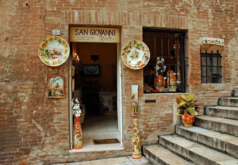 Doorway in Tuscany