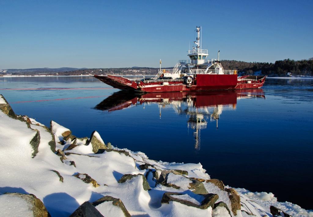 Winter Ferry Crossing