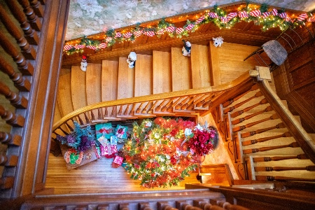 Christmas Downstairs