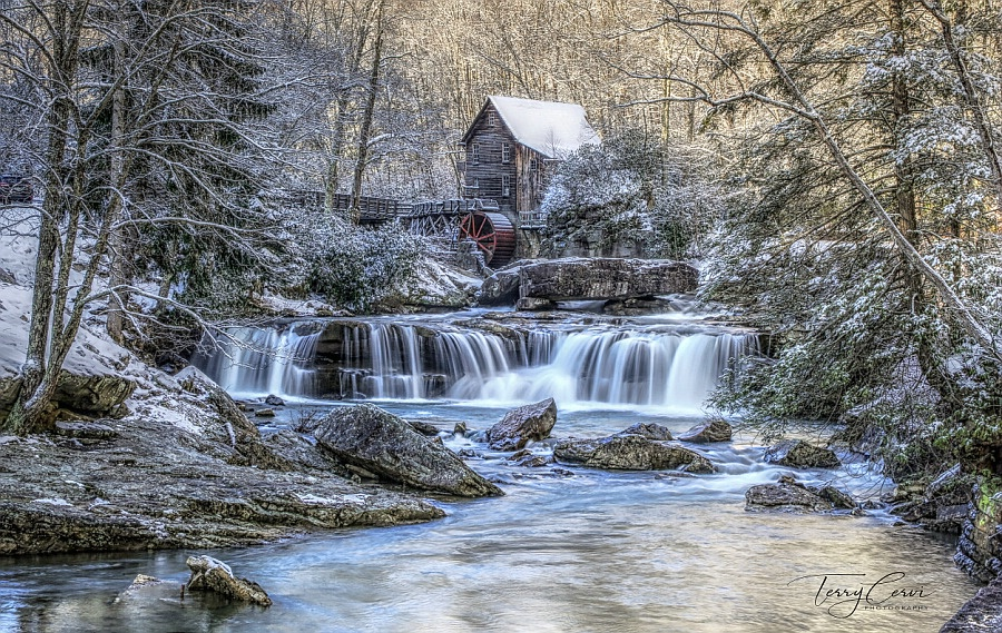 Late Winter at Glade Creek
