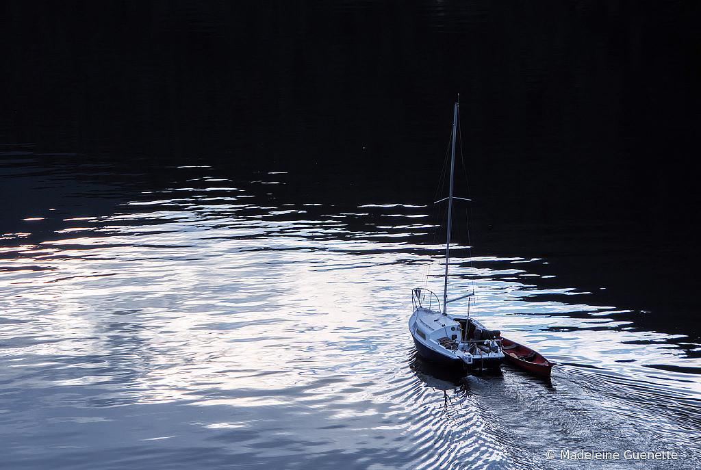Cruising on Kootenay lake
