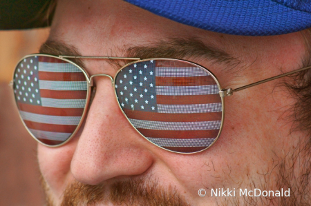 Seeing Red, White, and Blue