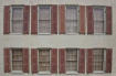 Rows of Shutters