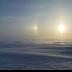 © Roxanne M. Westman PhotoID# 15786354: Beautiful sundogs on snowdrifts