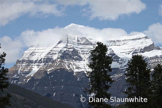 Robson Mountain, AB - ID: 15789606 © Diane Slaunwhite