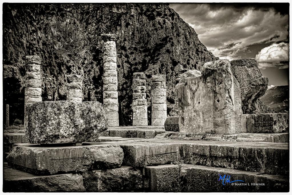 Ghosts of Ancient Delphi - Greece - ID: 15817379 © Martin L. Heavner