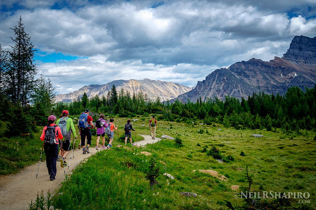 Hiking the Canadian Rockies