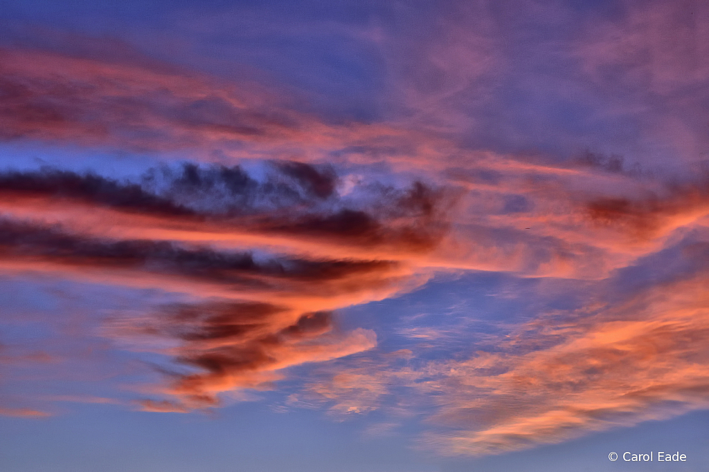 Painted Sky By God - ID: 15820512 © Carol Eade