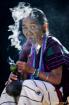 Pipe Smoking Lady