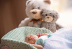 baby with bears