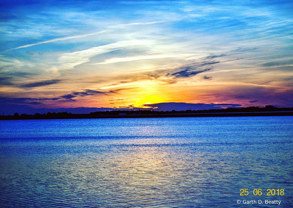 Local Reservoir at Sunset
