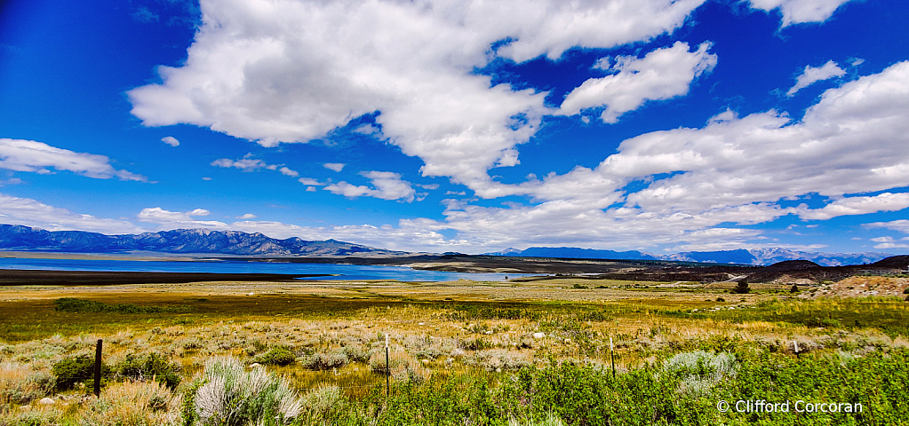Crowley Lake on a Summer Day - ID: 15830615 © Clifford Corcoran