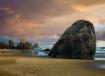 Sunset Oregon Bea...