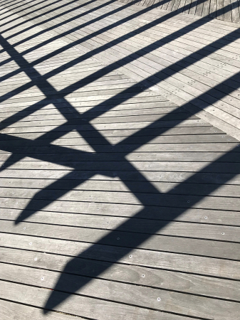 Shadow Lines on Deck